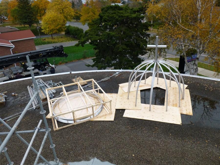 Dome Pre Installation