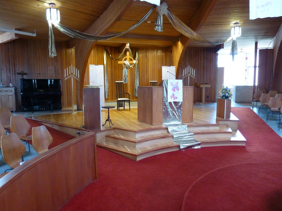 New Chancel Completed