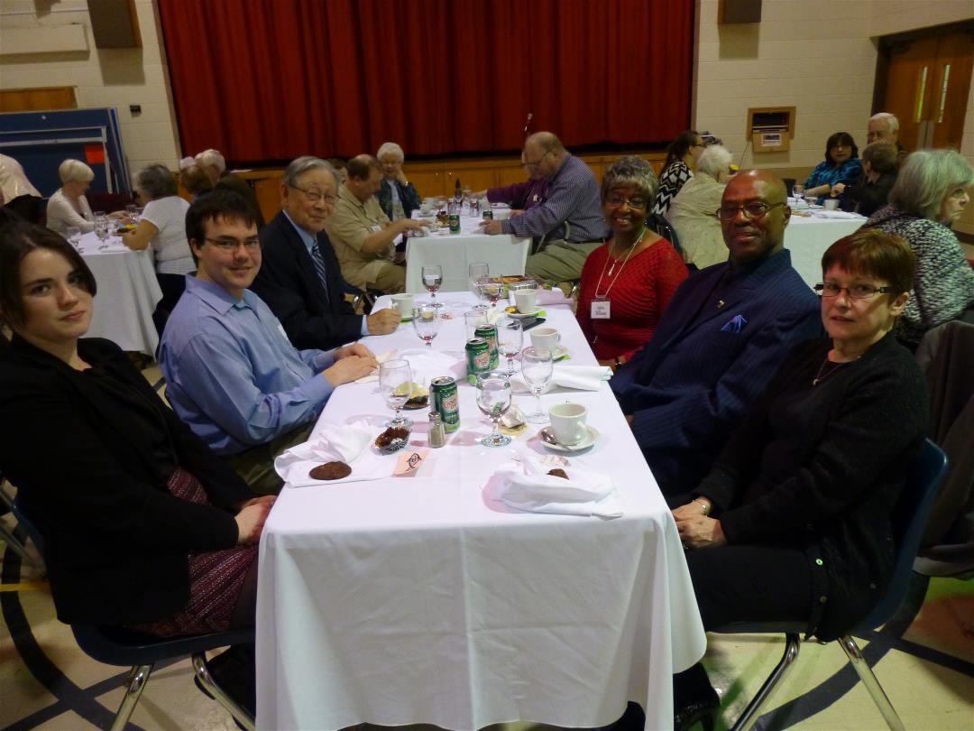 Table #3 At Anniversary Dinner